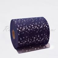 Navy Sequin Tulle Roll